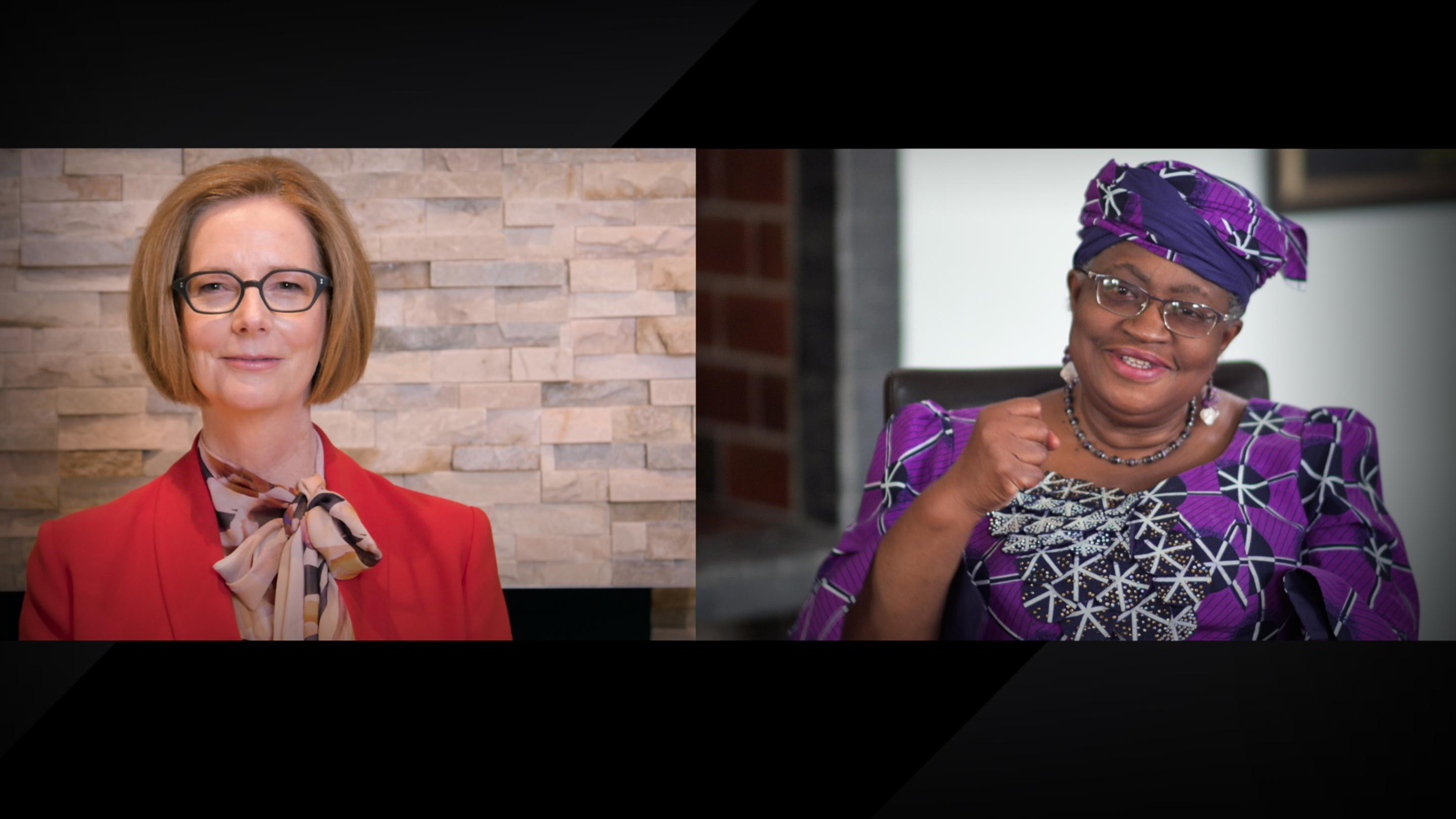 6 essential lessons for women leaders | Julia Gillard and Ngozi Okonjo-Iweala