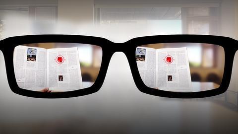 Autofocusing reading glasses of the future   Nitish Padmanaban