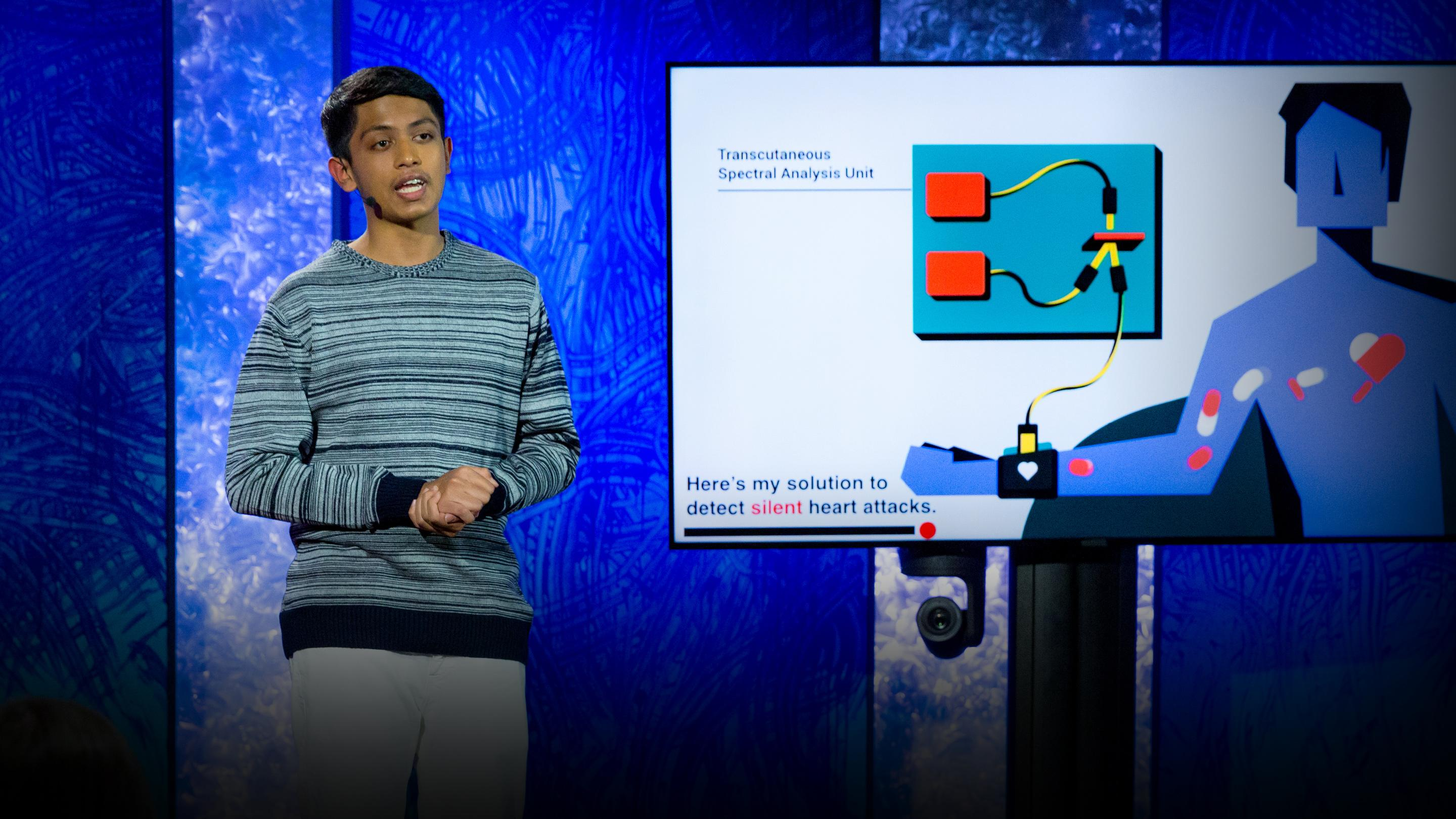 A life-saving device that detects silent heart attacks | Akash Manoj