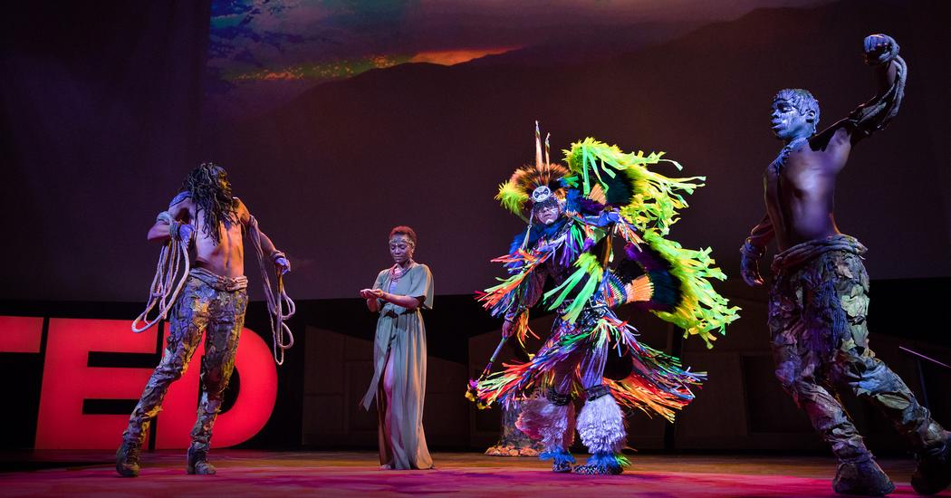 A dance to honor Mother Earth