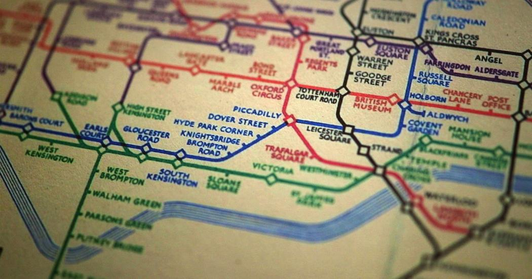 The genius of the London Tube Map