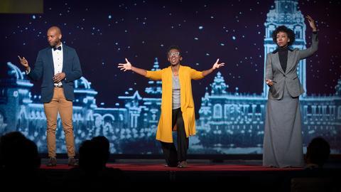 A historical musical that examines black identity in the 1901 World's Fair   Amma Y. Ghartey-Tagoe Kootin