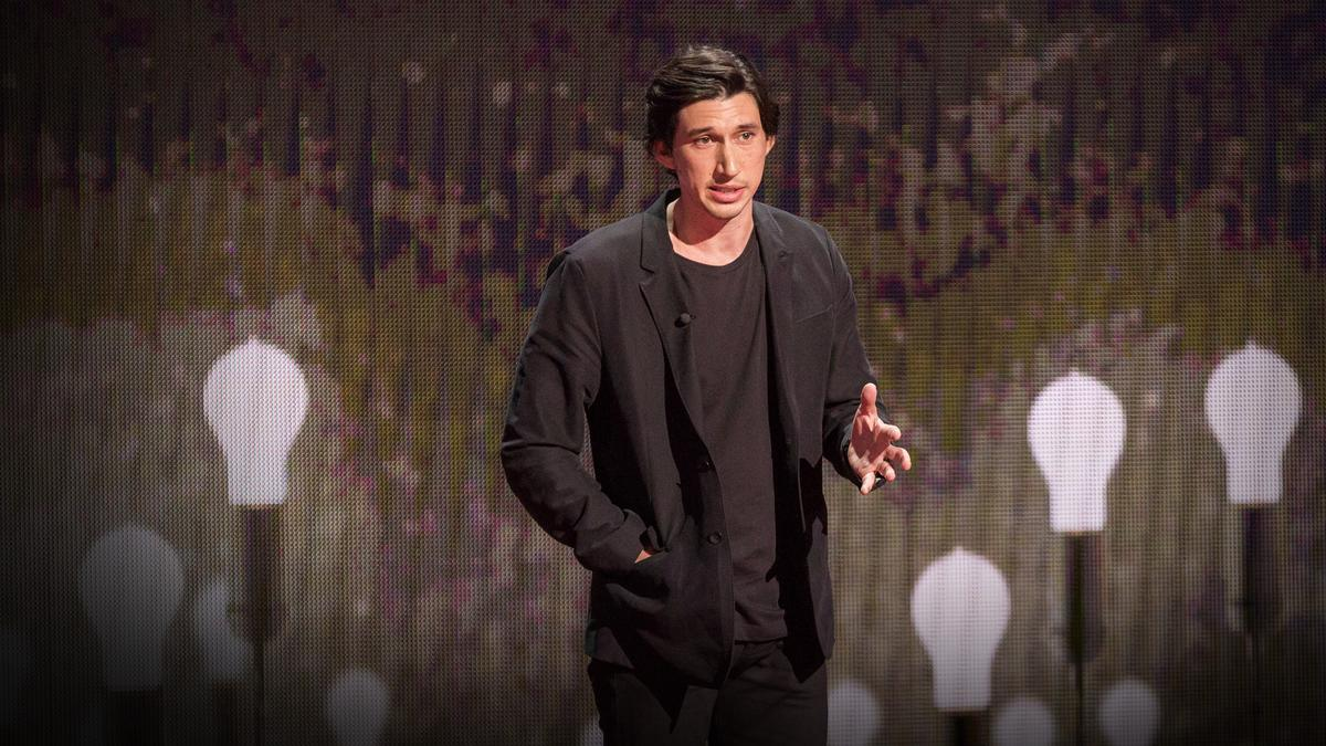 Adam Driver My Journey From Marine To Actor Ted Talk Flexus Gesture Control Sleeve