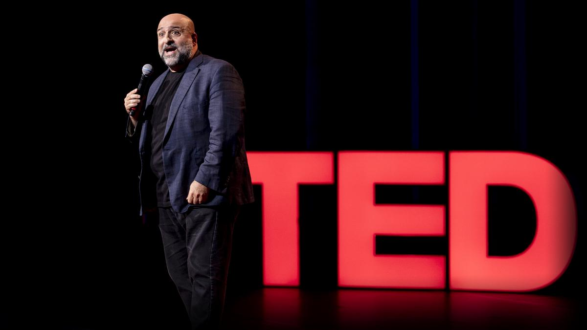 """A stand-up performance about """"ideas not worth spreading"""""""