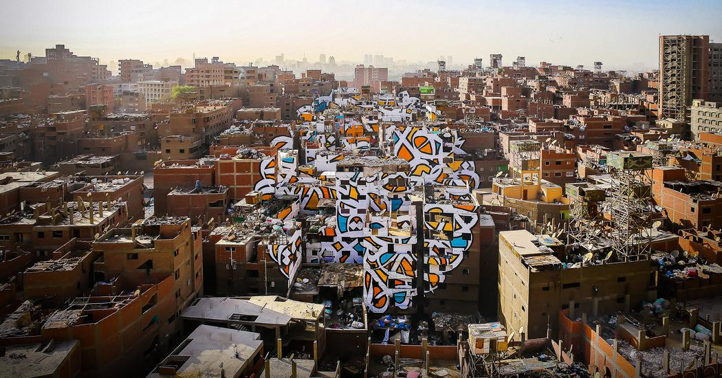 El Seed A Project Of Peace Painted Across 50 Buildings Ted Talk