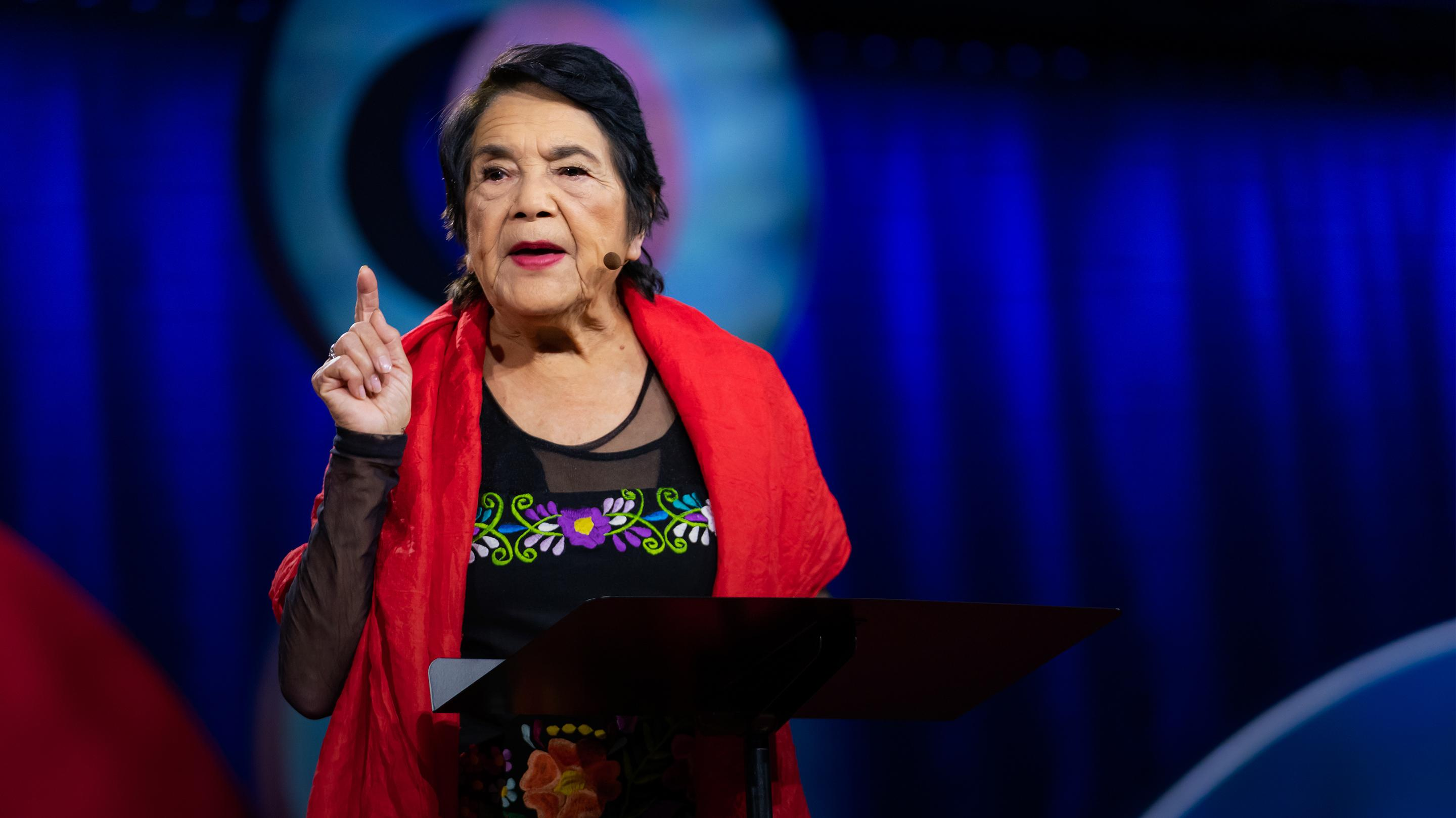 How to overcome apathy and find your power | Dolores Huerta