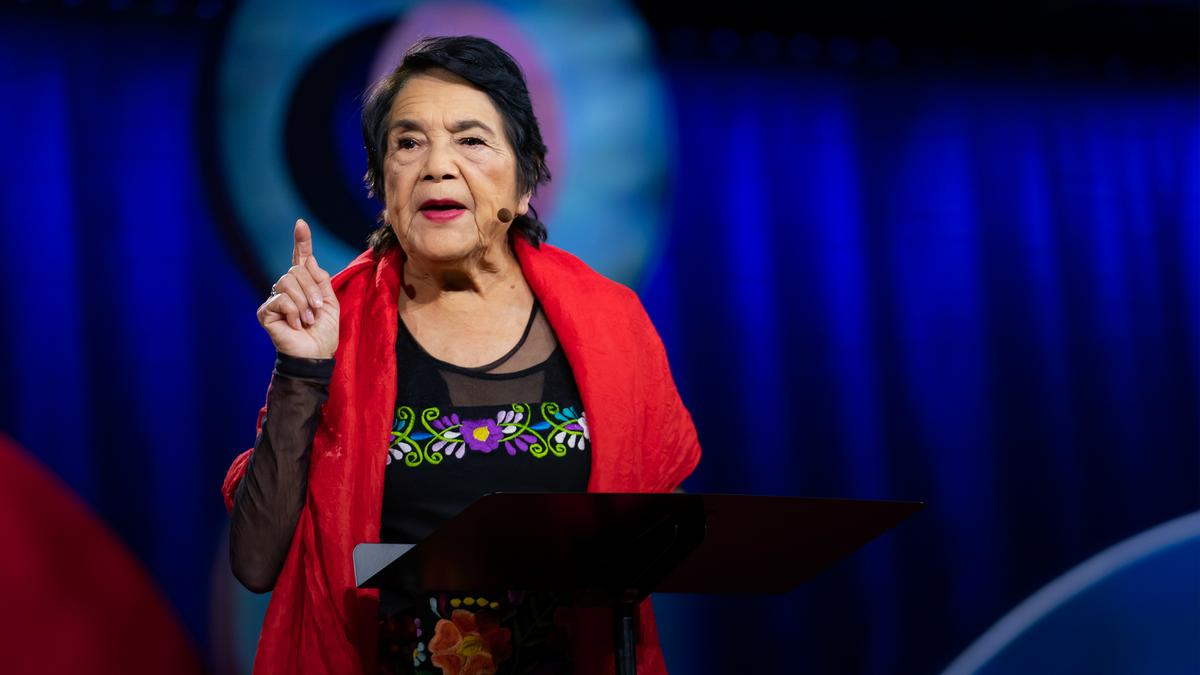 Dolores Huerta: How to overcome apathy and find your power | TED Talk