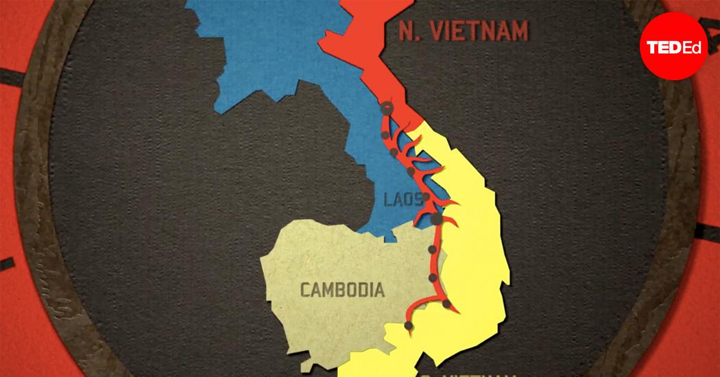 """Transcript of """"The infamous and ingenious Ho Chi Minh Trail"""""""