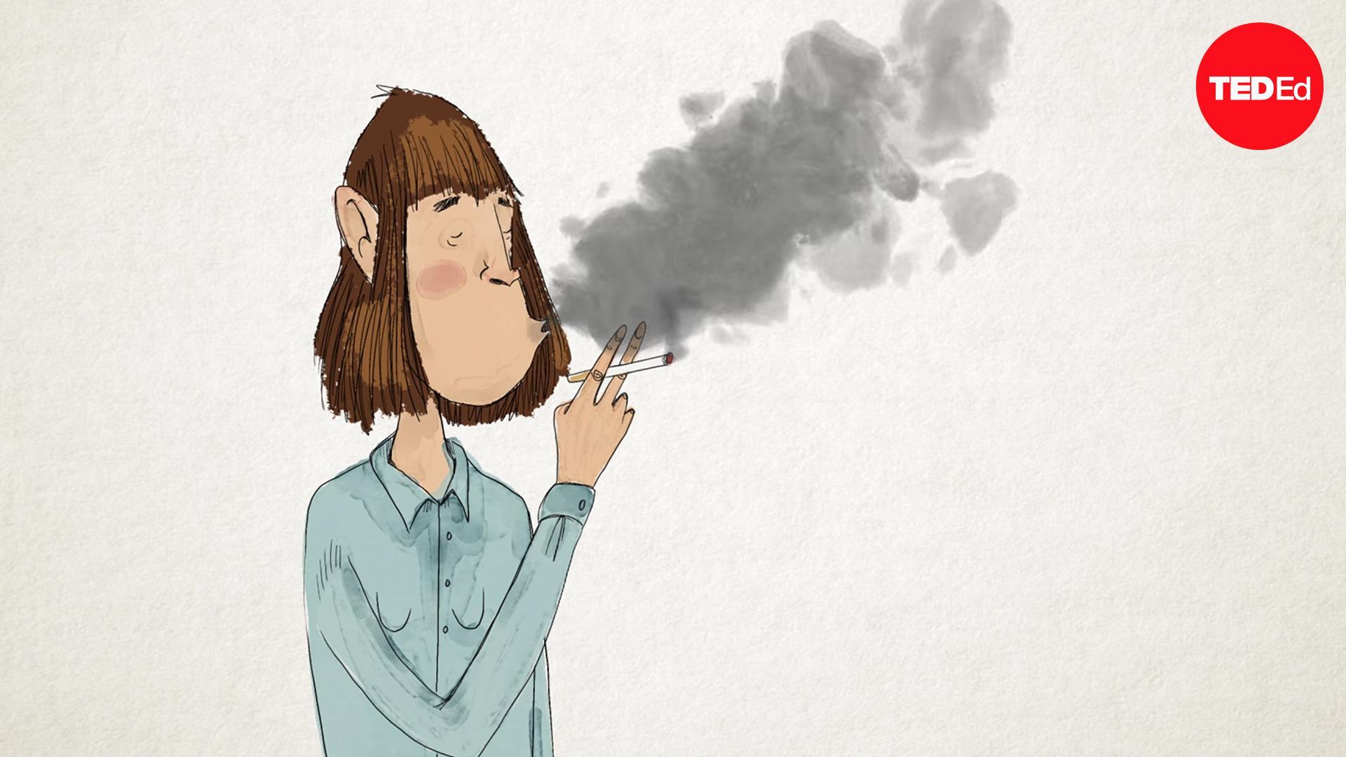 Cigarette textless