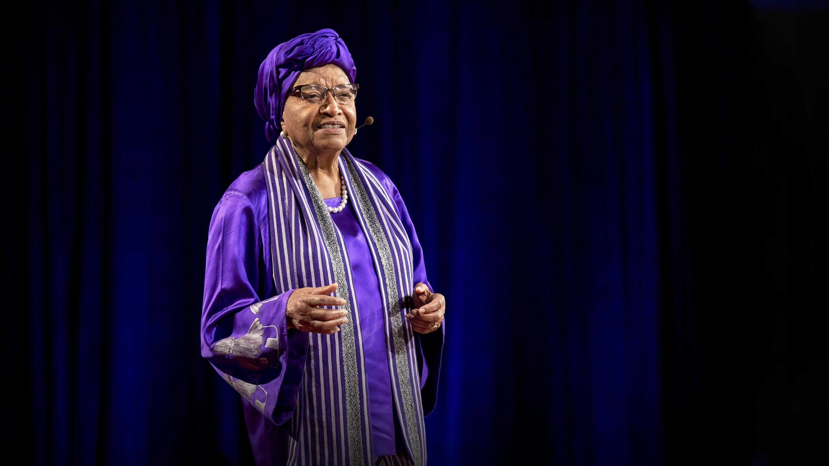 How women will lead us to freedom, justice and peace | H.E. Ellen Johnson Sirleaf