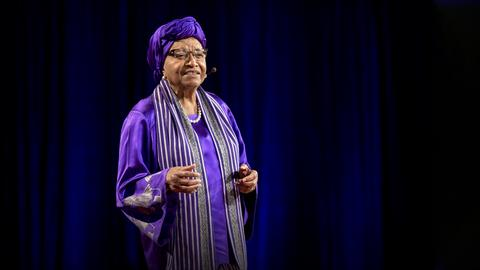 How women will lead us to freedom, justice and peace   H.E. Ellen Johnson Sirleaf